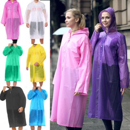 Men Women Jacket PE Coat Poncho Rainwear
