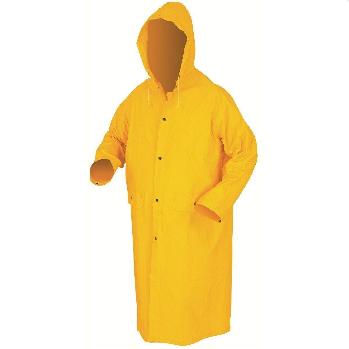 men womens rainwear long waterproof rain jacket