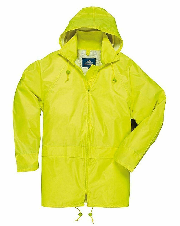 Men Rain Attached Hood Sizes
