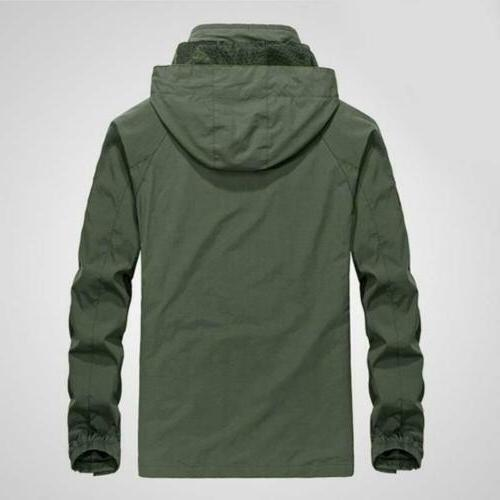 Mens Hooded Camping Outwear