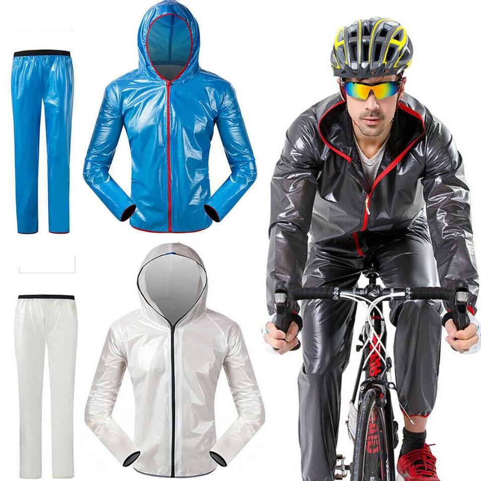 mens bike cycling raincoat waterproof hiking rain