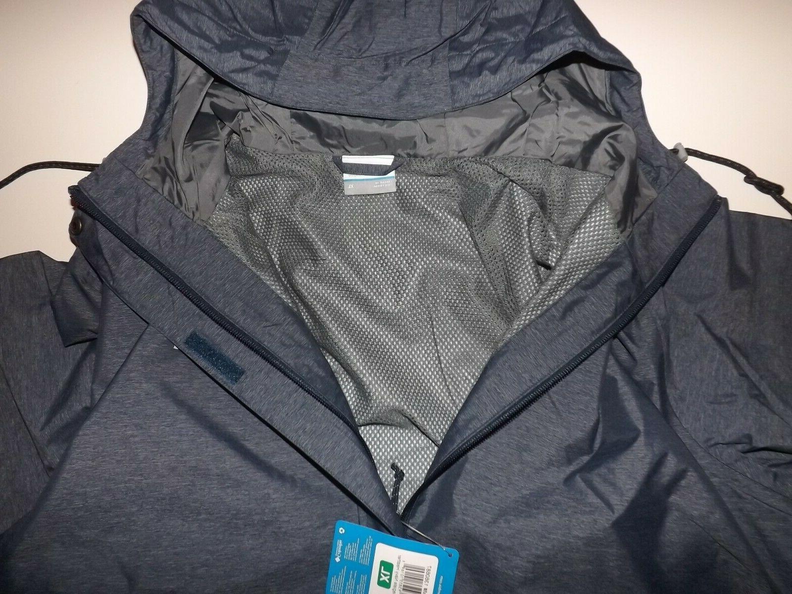 Columbia Mens Blue Heather Jacket Size