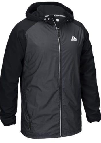mens modern varsity woven jacket rain high
