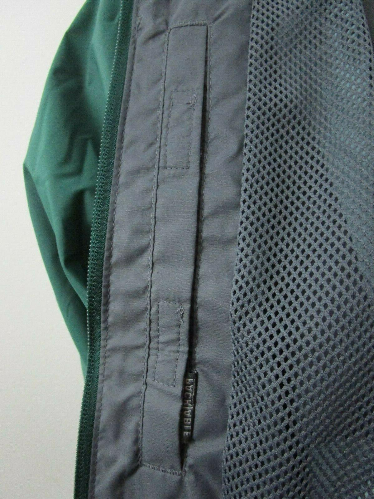 Mens Columbia Falls Jacket Green