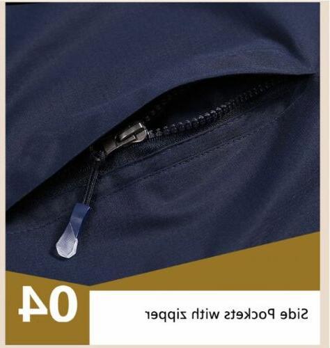 Mens Jacket Rainwear Rain Coat