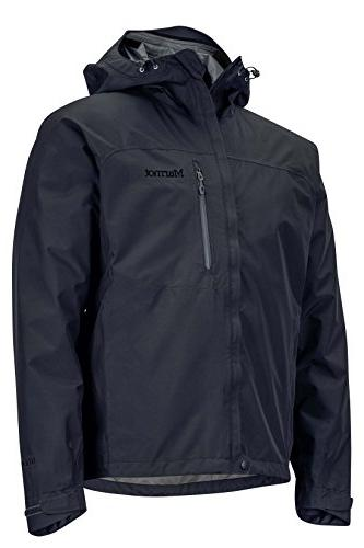 Marmot Waterproof Rain Jacket, with Technology, Jet