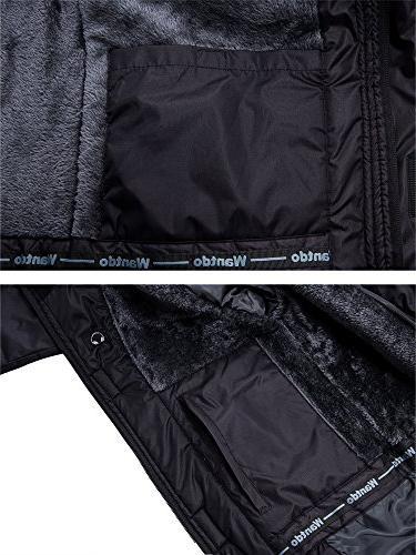 Wantdo Men's Waterproof Mountain Jacket Jacket S
