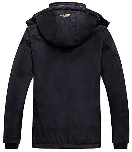 Wantdo Womens Fleece Ski Jacket Rain