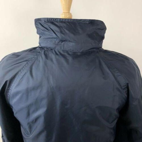 California Blue Hooded Jacket Coat Vented Full
