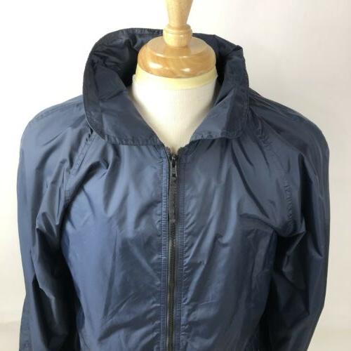 California Hooded Rain Jacket Vented