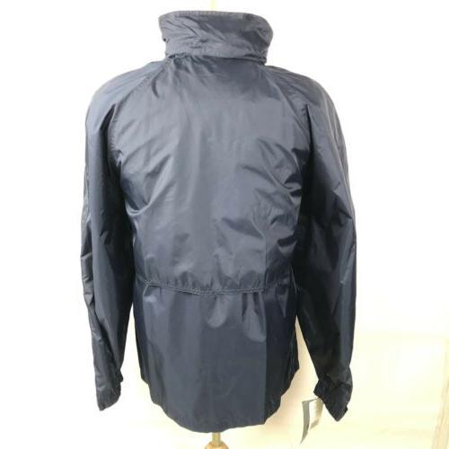 California Hooded Rain Jacket Vented Full Zip