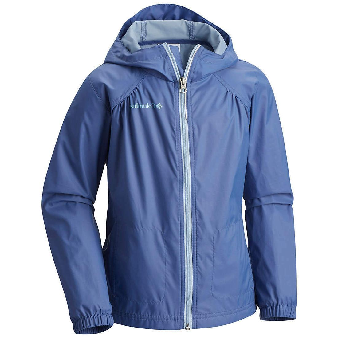 New Girls Youth Columbia Switchback Lightweight Waterproof R