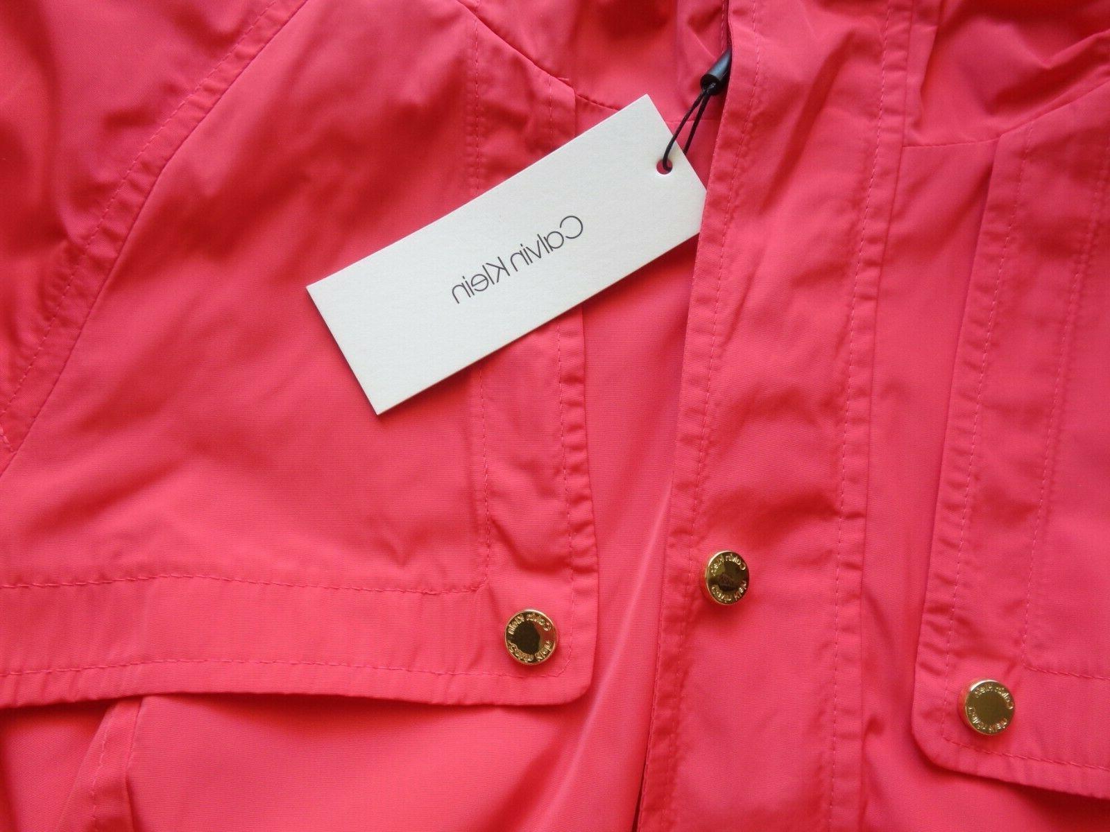NEW Calvin Klein Rain Coat S M L