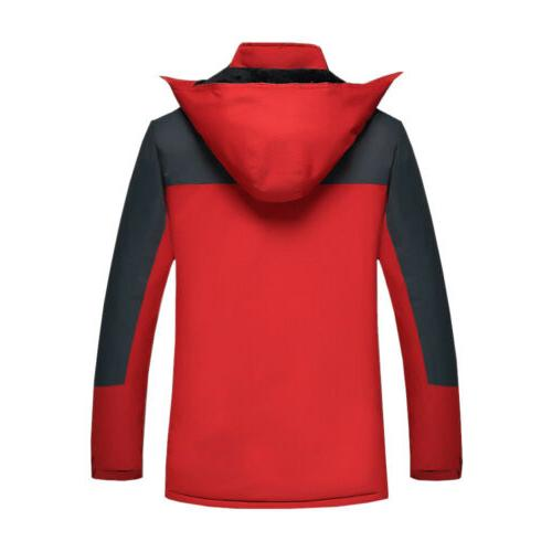 NEW Men's Coats Jackets Windproof Rain Outerwear Camping