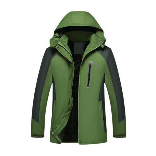 NEW Men's Windproof Rain Outerwear Camping