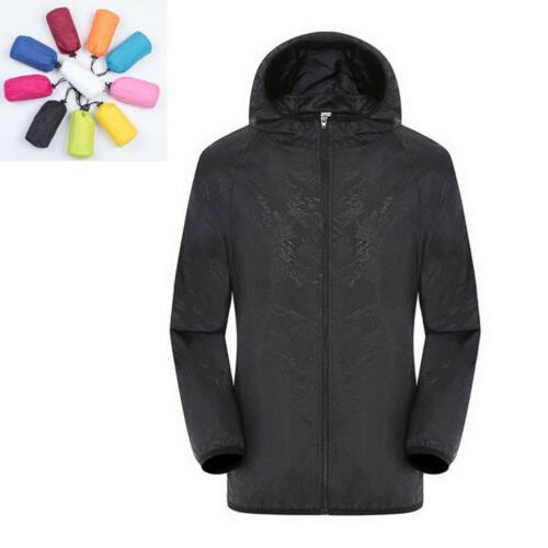 Waterproof Windproof Jacket Men Women Quick drying Lightweig