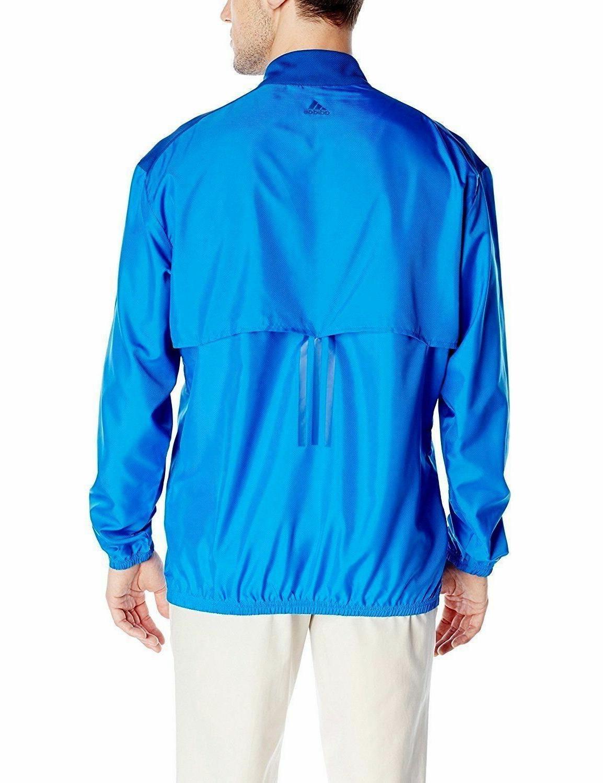 New Mens Wind Blue Long Sleeve Golf