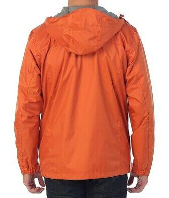 GIOBERTI NEW Orange Women Large L Waterproof