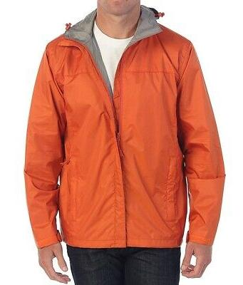 new orange women large l waterproof windbreaker