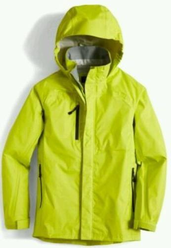 New! Waterproof /Windproof Rainwall Rain Jacket - XS -