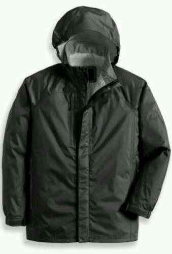 new waterproof windproof rain jacket boys xs