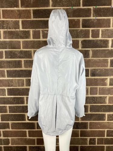 NWOT Gray Hooded Coat