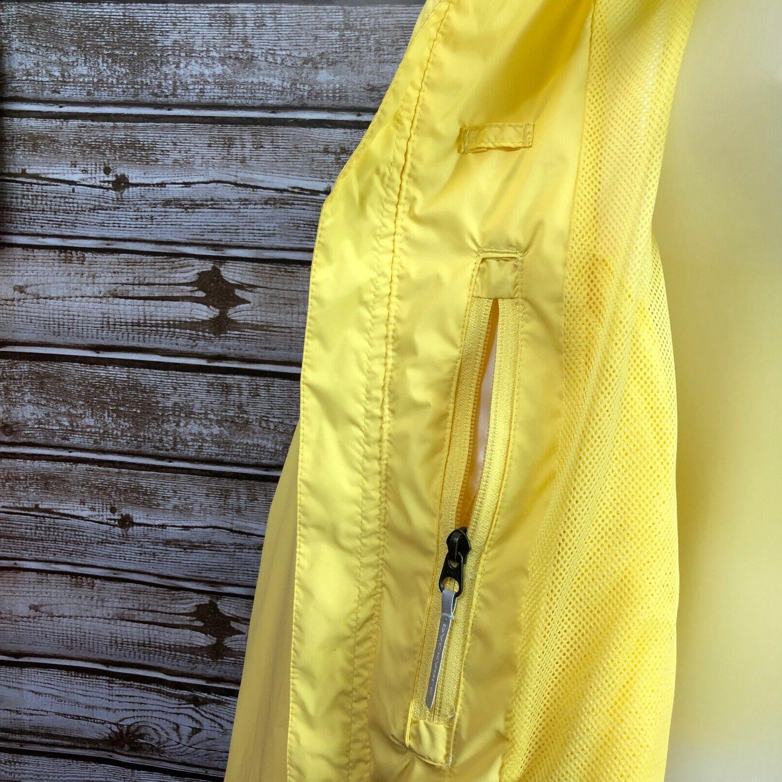 NWT Columbia Plus Long Sleeve Yellow Rain Jacket Waterproof