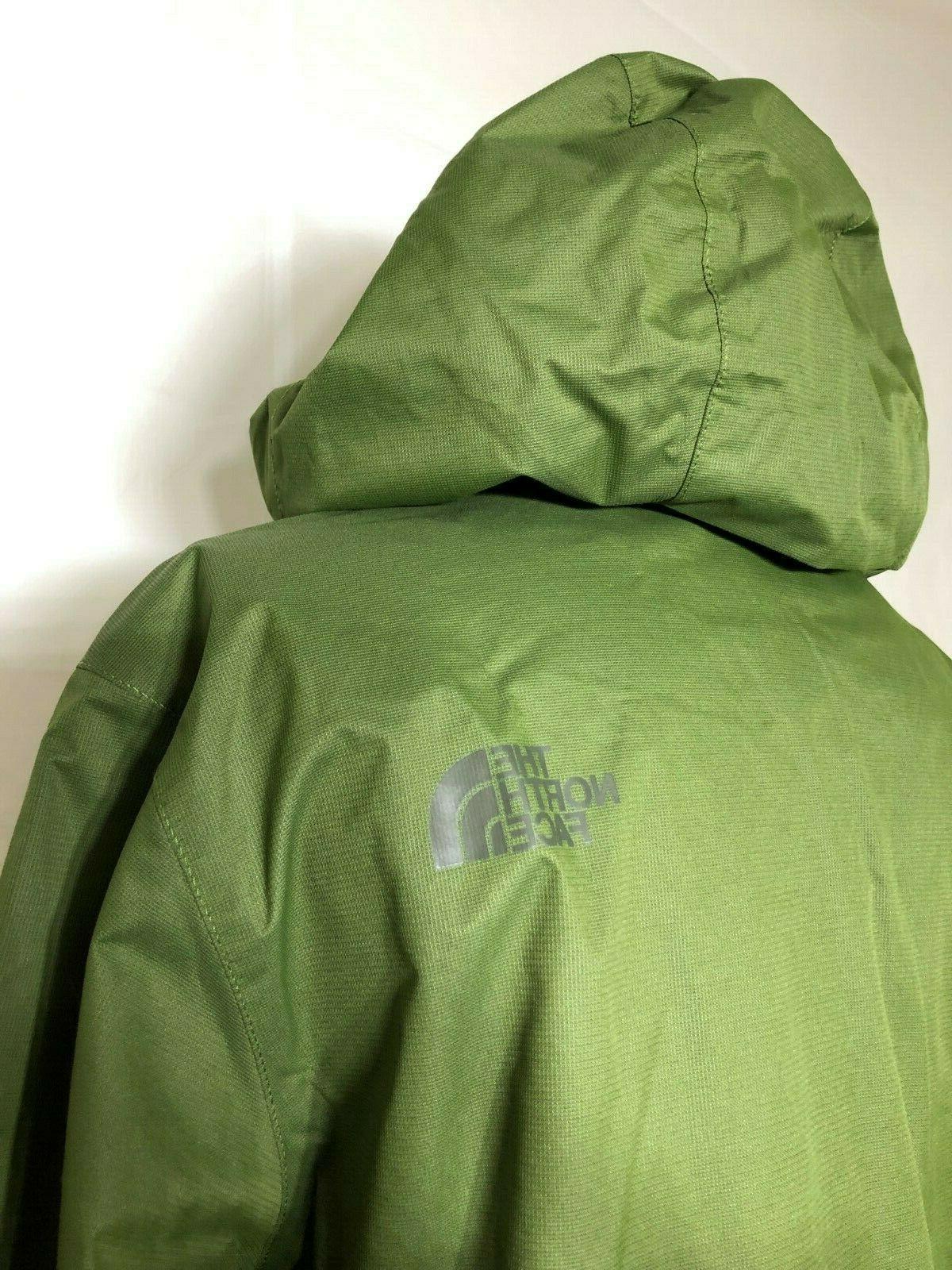NWT Men's Waterproof Hooded Rain Jacket Large
