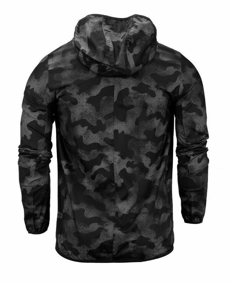 NWT Adidas the Jacket Windbreaker Rain Hoodie L,XL