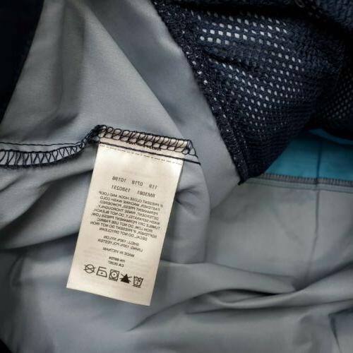 Mountain Waterproof Hooded Jacket Blue - XL