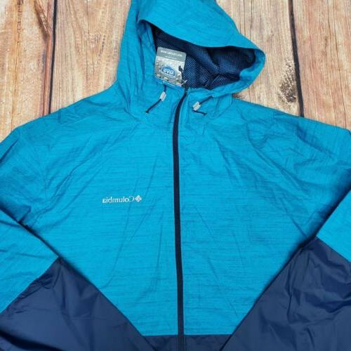 NWT Columbia Roan Jacket - Blue - XL