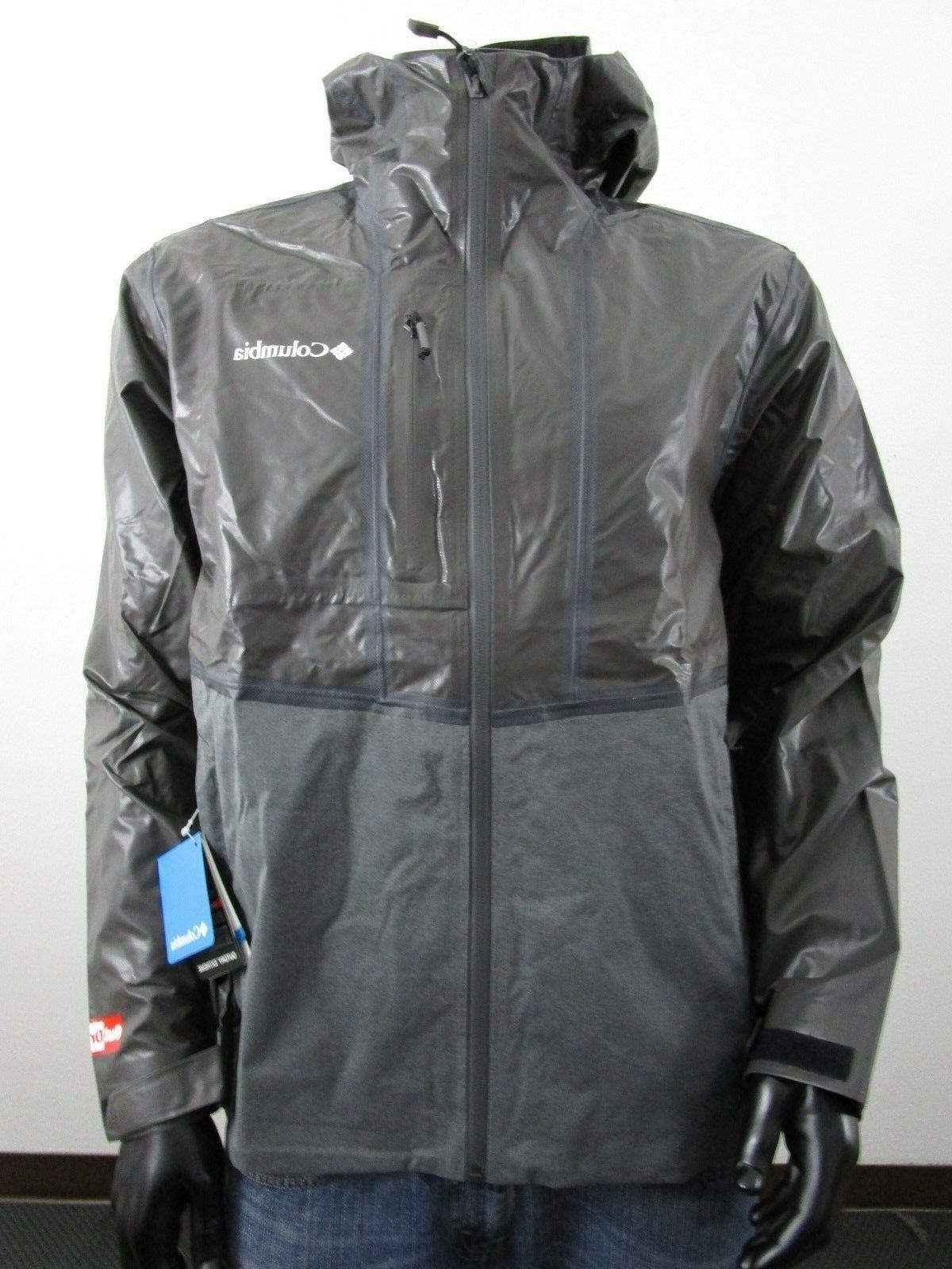 mens outdry explorer hooded hybrid waterproof rain