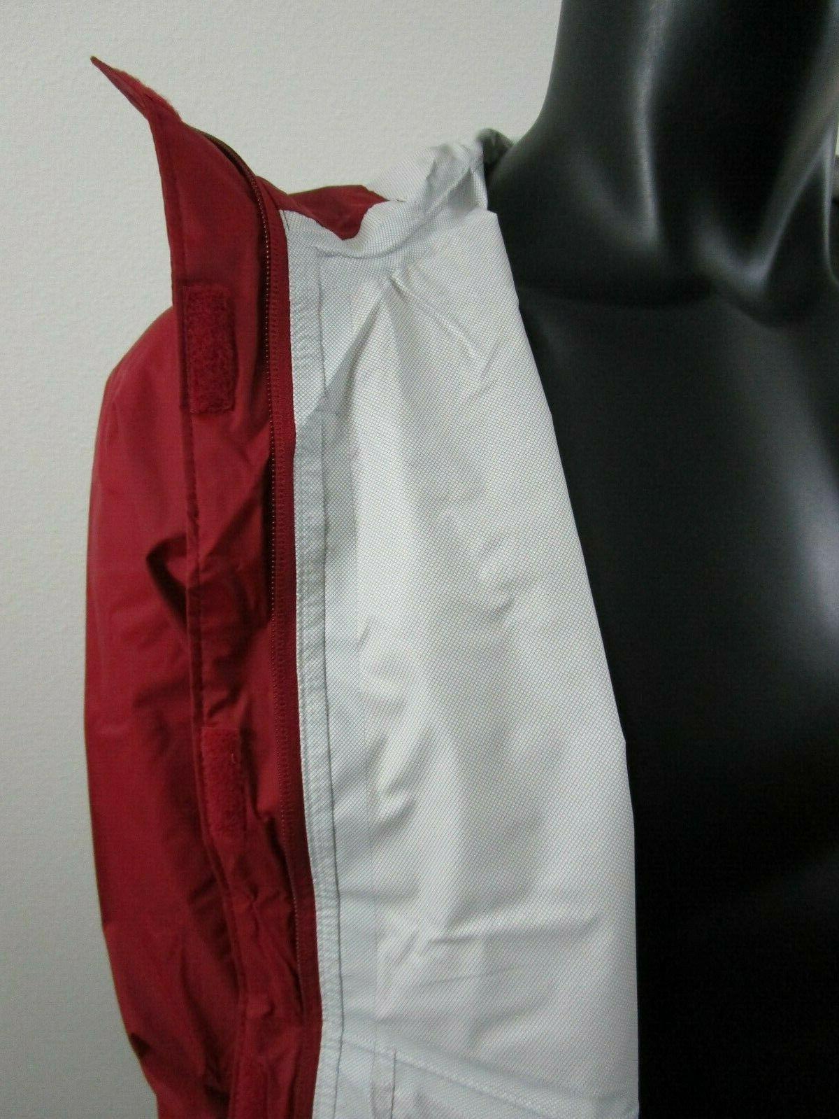 NWT Mens Gable Pass Rain Jacket - Beet