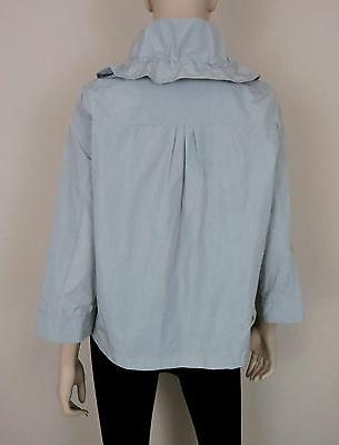 NWT Coat Zip Collar L