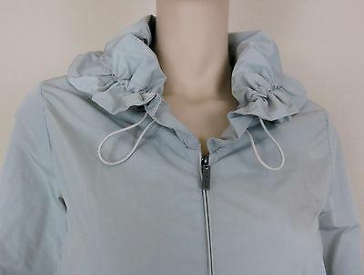 NWT Rain Coat 3/4 Sleeve Zip L
