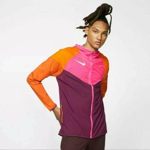 nwt windrunner running rain jacket coat medium