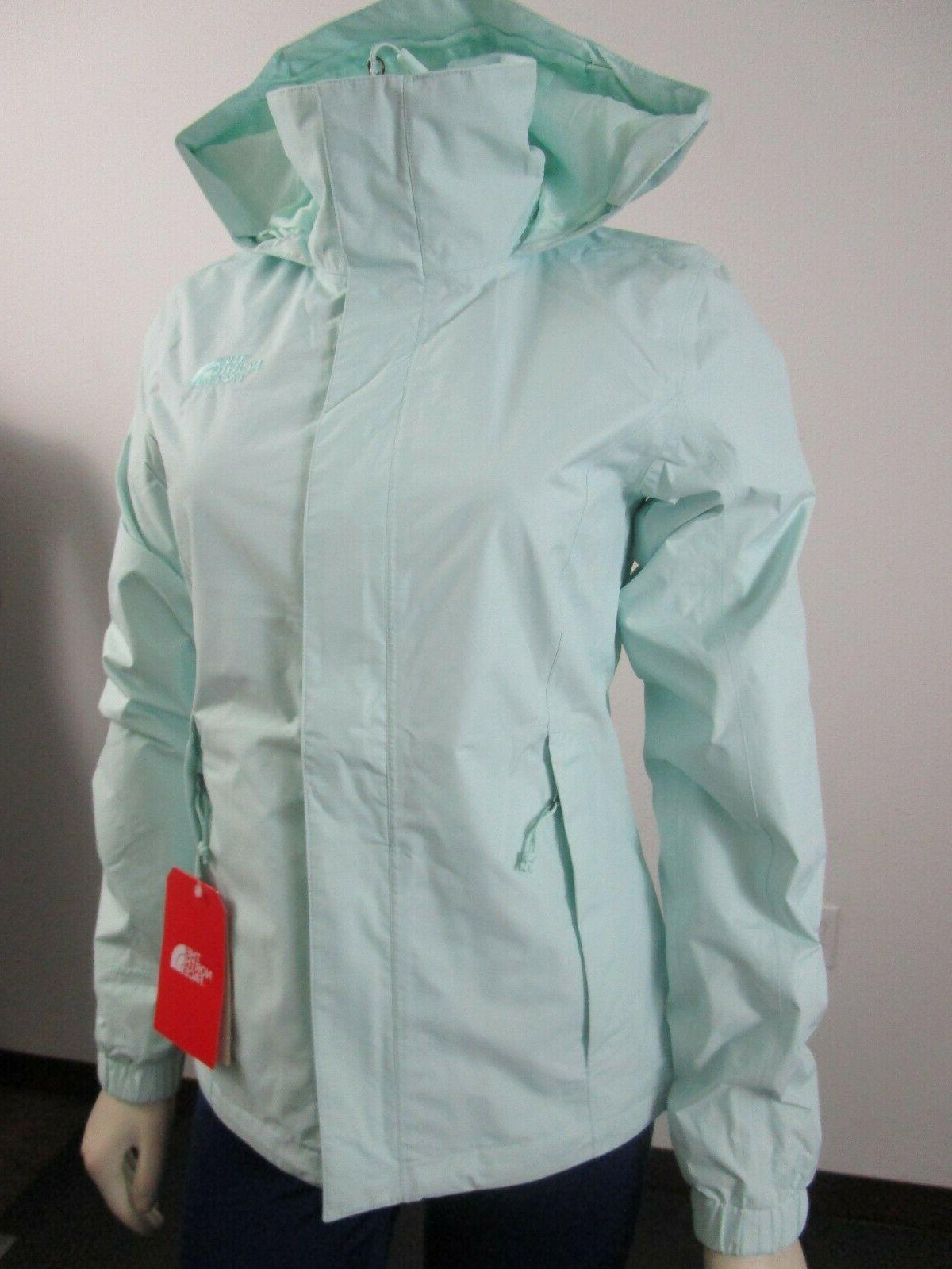 NWT Face Resolve Dryvent Jacket Jade