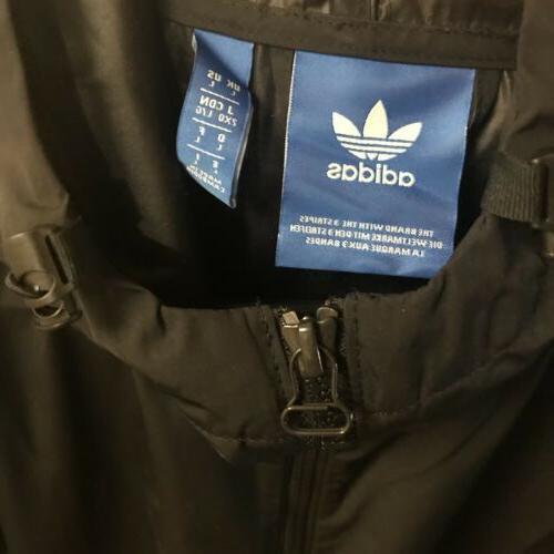 Adidas EQT Hooded Rain Jacket Men's Size -