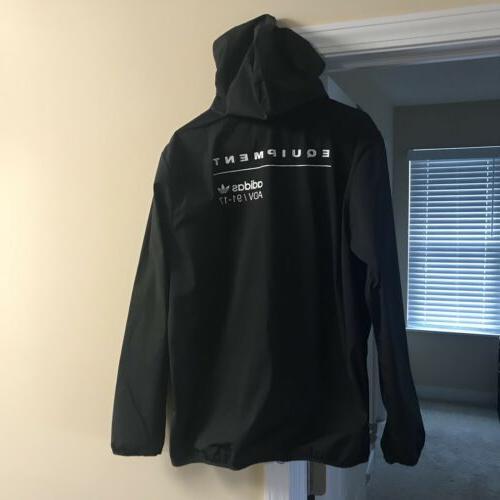 originals eqt hooded rain jacket coat men