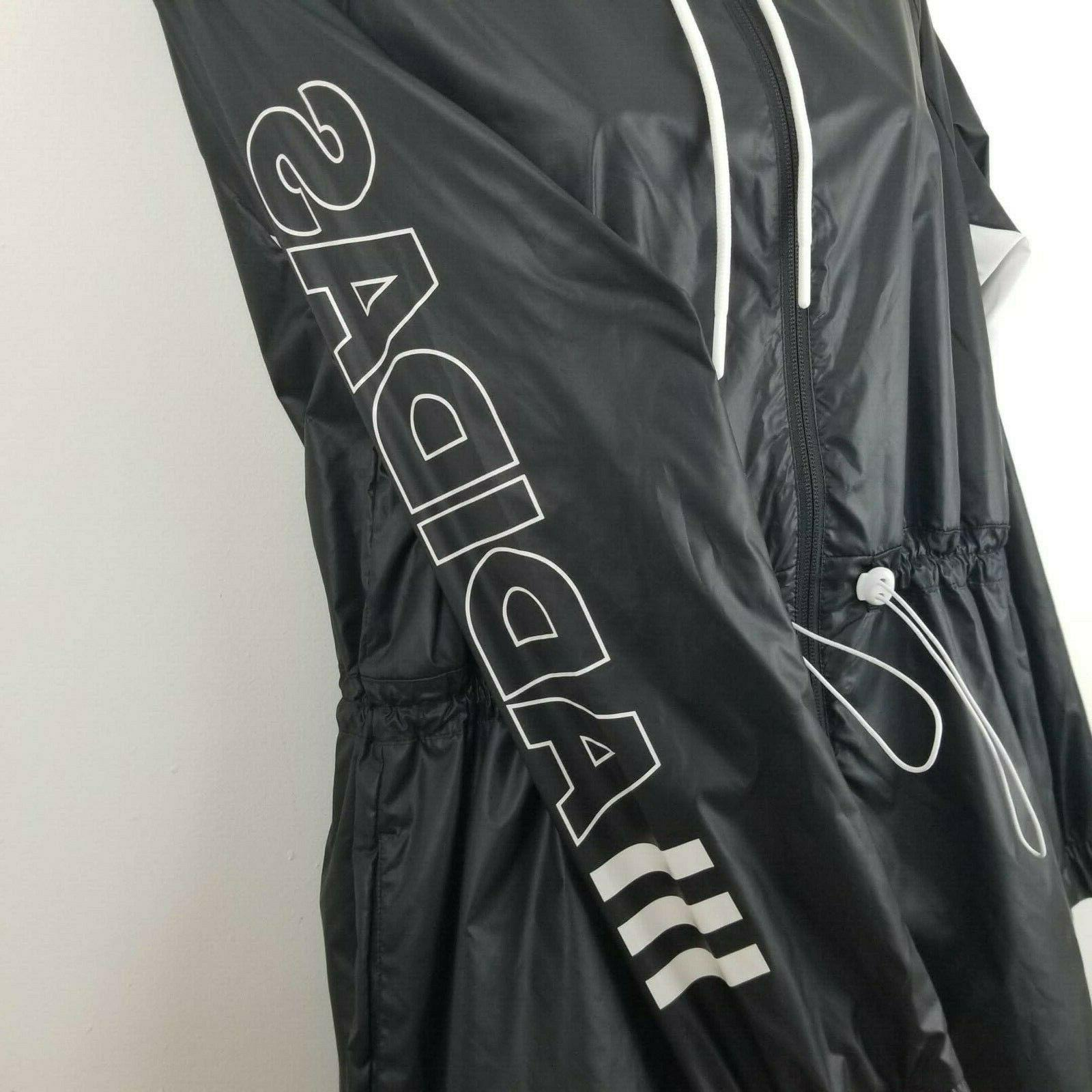 Adidas Outline Large Womens Black and White