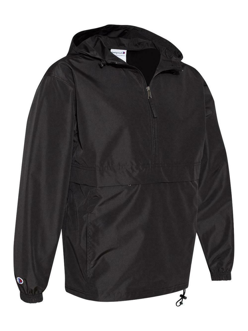 Champion - Anokrak Rain Jacket, 1/4 Zip - Water Resistant