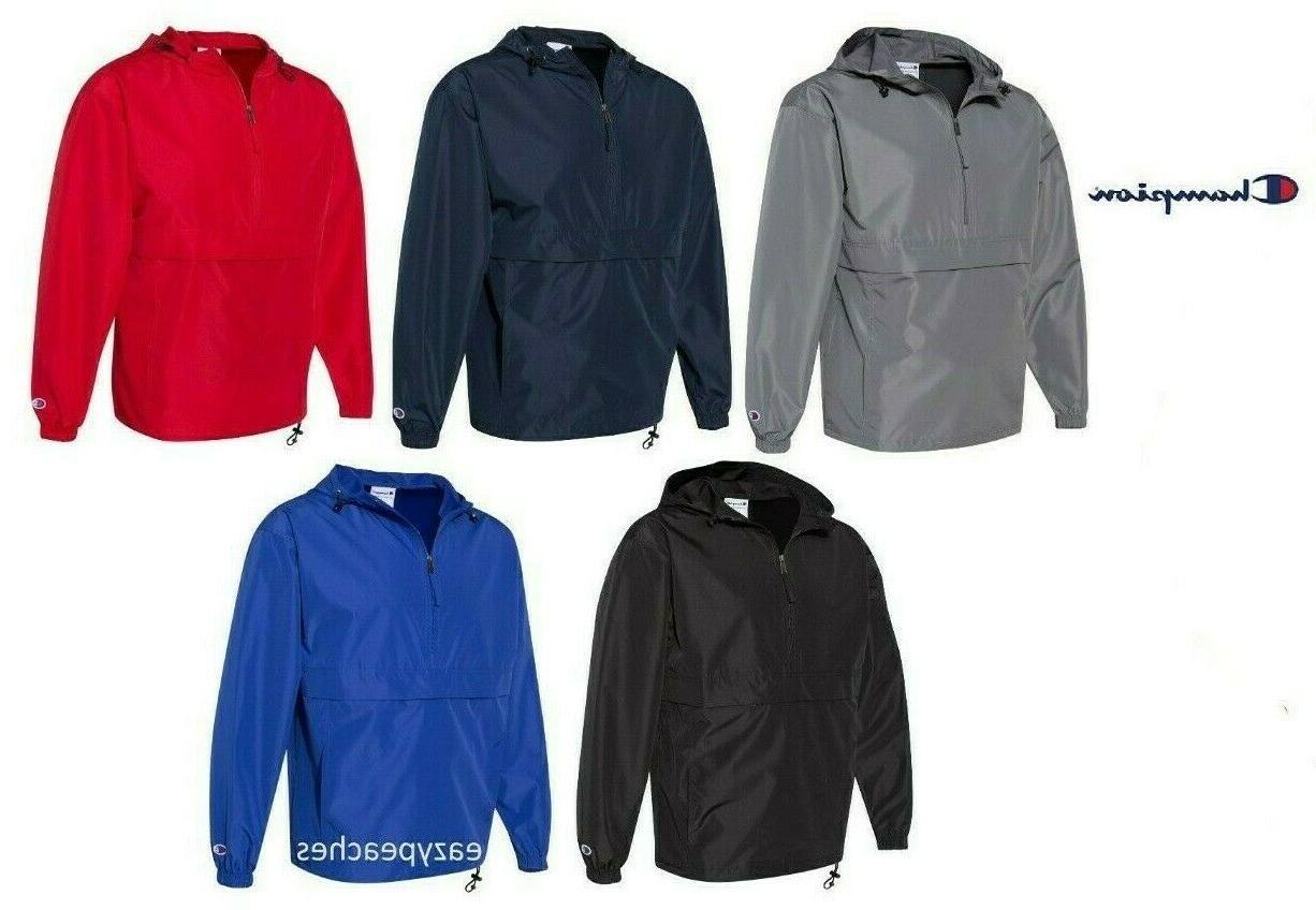 packable anokrak rain jacket 1 4 zip