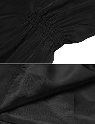Beyove Windbreaker Rain Jacket Black