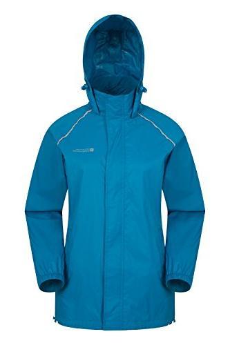 pakka waterproof packable rain jacket