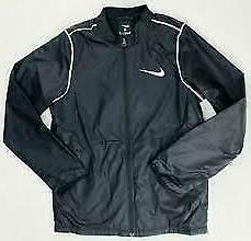 Nike Park 20 Mens Rain Wind Black Jacket Black Large