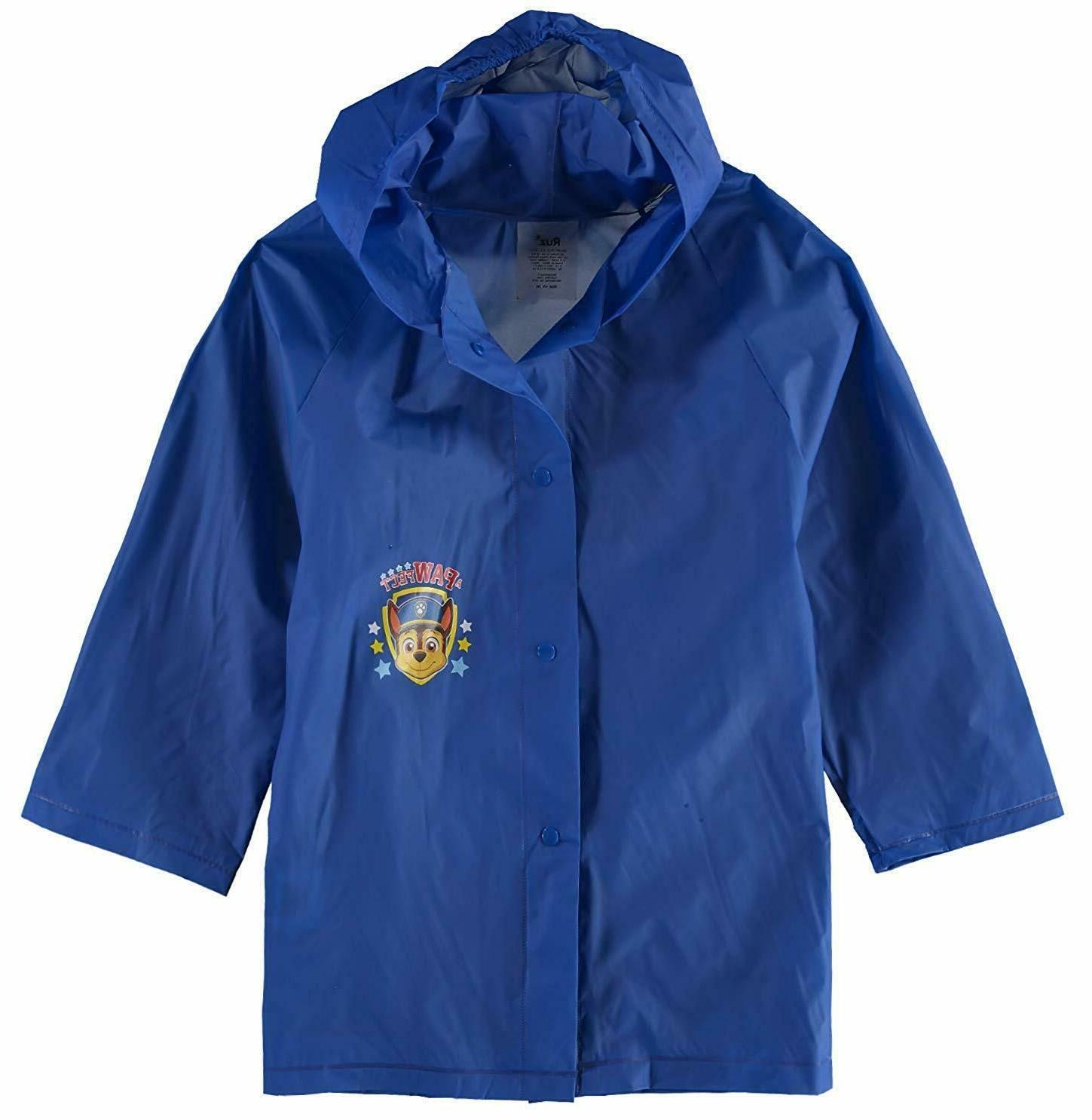Paw Hooded Size Coat