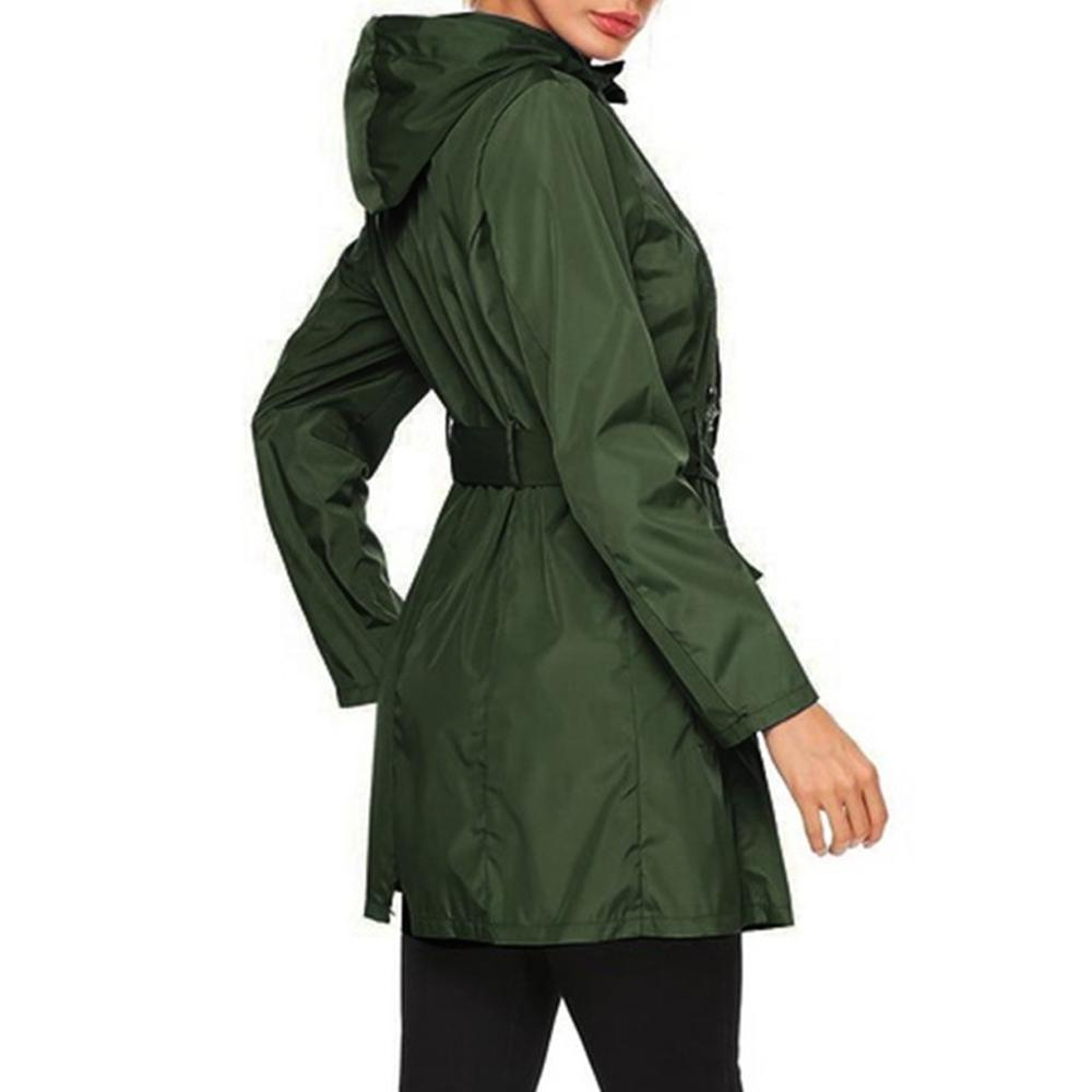 Plus Size Hiking Waterproof Pocket Coat For 2019