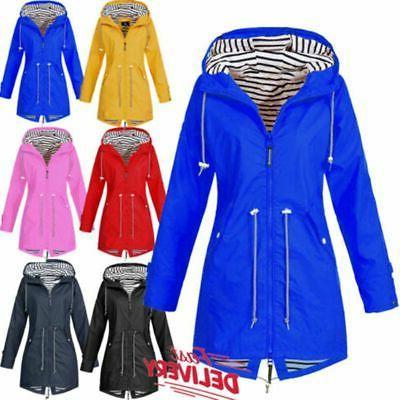 Plus Size Sleeve Hooded Lady Coat