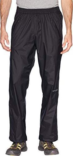 Marmot PreCip Full Zip Pant - Men's Black Large Large