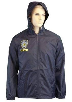 rain coat adult mens outerwear ny police